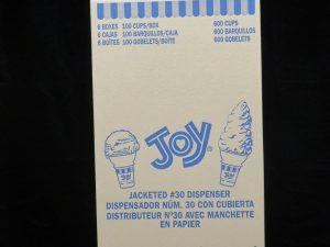 joy#30 dispensor jacketed cake cone joy30dj lakeland confectionary