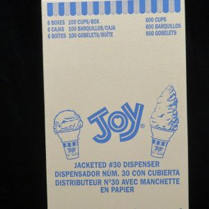 joy#30 dispensor jacketed cake cone joy30dj lakeland confectionary
