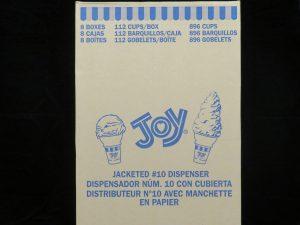 joy#10d dispensor jacketed cake cones joy10dj lakeland confectionary