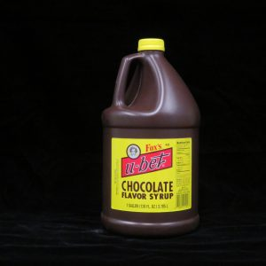 fox's ubet chocolate syrup fx1000 lakeland confectionary
