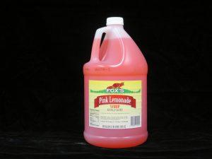 fox's pink lemonade syrup fx1214 lakeland confectionary
