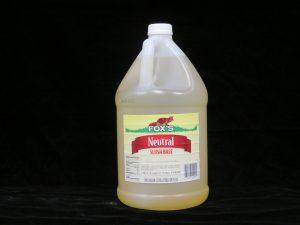 fox's neutral slush base fx1090 lakeland confectionary