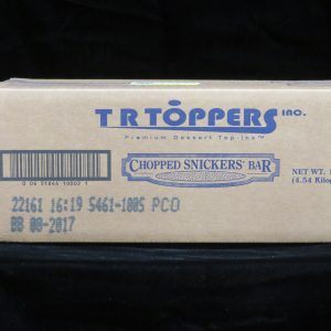 chopped snickers tops461100 lakeland confectionary