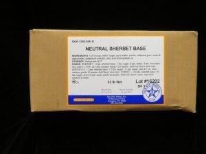 star kay white neutral sherbet base skw1392 lakeland confectionary