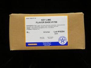 star kay white key lime base skw1788 lakeland confectionary