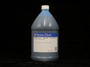 virginia dare art liq blue color dj17 lakeland confectionary