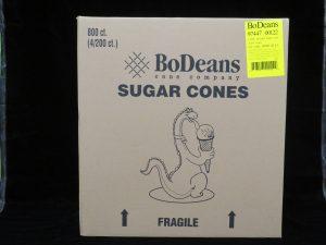 bodeans sugar cones bdc4/200 lakeland confectionary