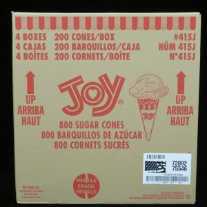 joy#415j joy jacketed sugar cone lakeland confectionary