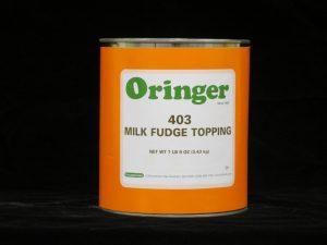 oringer milk fudge om403 lakeland confectionary
