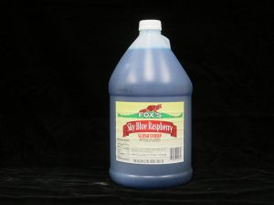 fox's blue raspberry slush syrup fx1034 lakeland confectionary