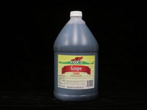 fox's grape syrup fx1215 lakeland confectionary