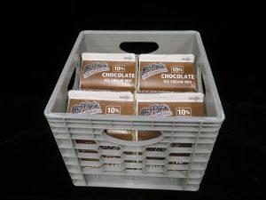 leibys 10% chocolate soft serve mix ld98008 lakeland confectionary