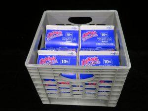 leibys 10% vanilla soft serve mix ld98007 lakeland confectionary