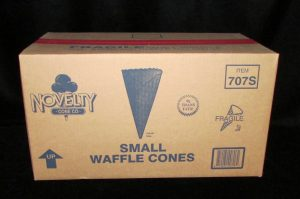 lakeland confectionary supply nov-707s-novelty-small-waffle-cone-264
