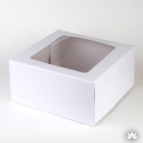 Window Cake Box 8x8x4 100